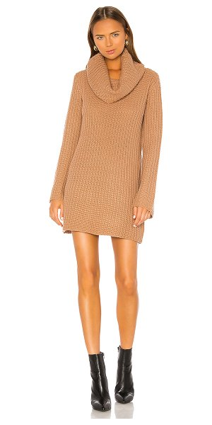 BB Dakota couldn't be sweater dress in camel