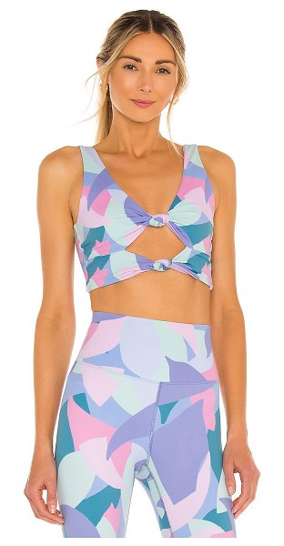 Beach Riot bowie sports bra in mauve mod