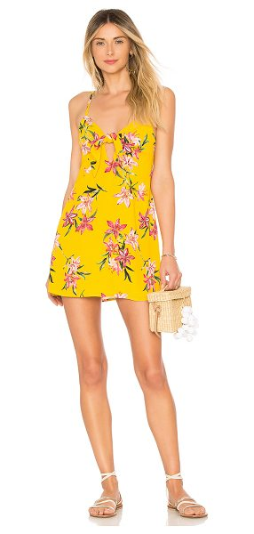 Beach Riot x REVOLVE Willow Dress in yellow - Self & Lining: 100% viscose. Dry clean only. Fully...