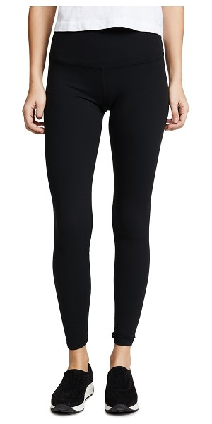 Beyond Yoga high waisted leggings in jet black