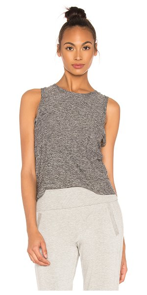 Beyond Yoga knot so fast cropped tank in black & white - Beyond Yoga Knot So Fast Cropped Tank in Black. - size...