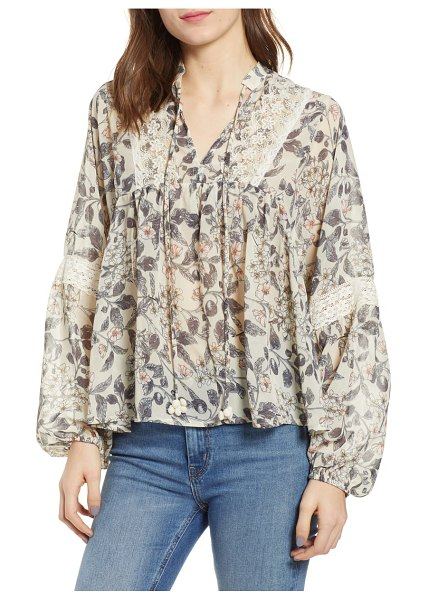 Bishop + Young floral blouse in print