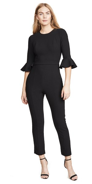 Black Halo brooklyn jumpsuit in black