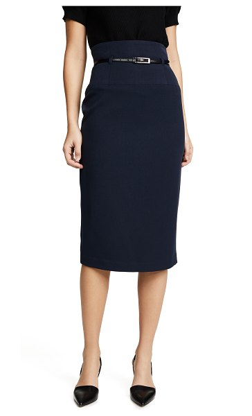 Black Halo high waisted pencil skirt in eclipse