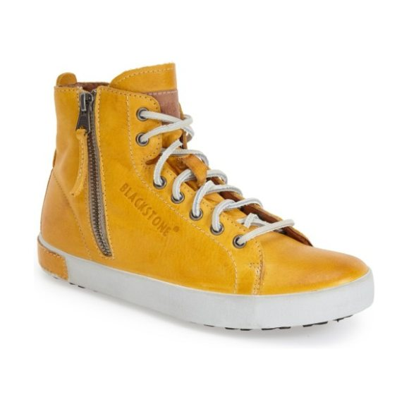 Blackstone 'jl' high top sneaker in butterscotch