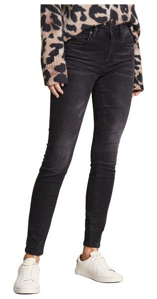 Blank Denim the bond mid rise skinny jeans in 0 dark 30