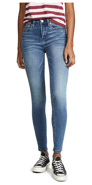 Blank Denim the bond midrise skinny jeans in lady liberty - Fabric: Denim Skinny silhouette Ankle length Button at...