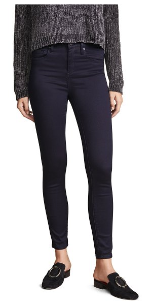 Blank Denim the great jones high rise skinny jeans in jager bomb - Fabric: Stretch denim Skinny silhouette Ankle length...