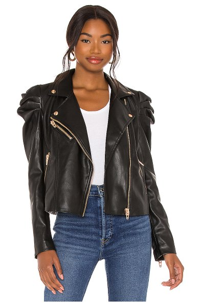 BLANK NYC faux leather jacket in lonestar