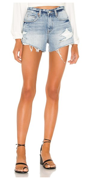 BLANK NYC the barrow vintage high rise denim short in stupid in love