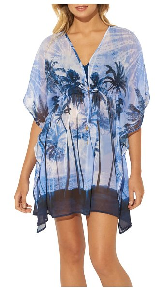 Bleu By Rod Beattie cover-up caftan in navy