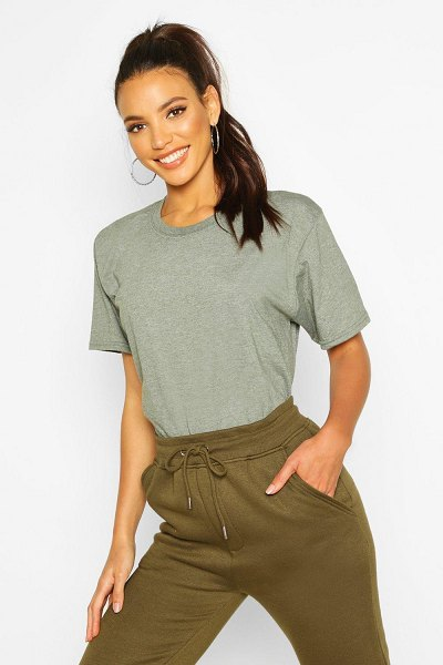 Boohoo Oversize T-Shirt in olive