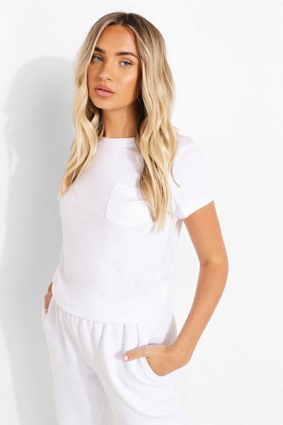 Boohoo Short Sleeve T Shirt in white