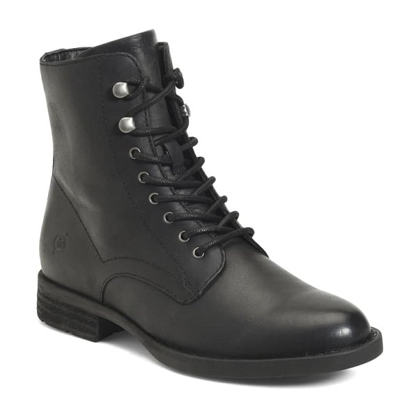 Born b?rn boreen bootie in black leather
