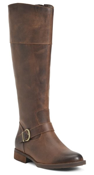 Born b?rn braydon knee high boot in brown leather