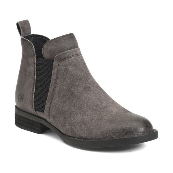 Born b?rn brenta chelsea boot in black leather