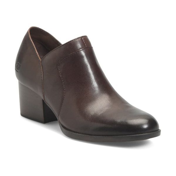 Born b?rn caley bootie in brown leather
