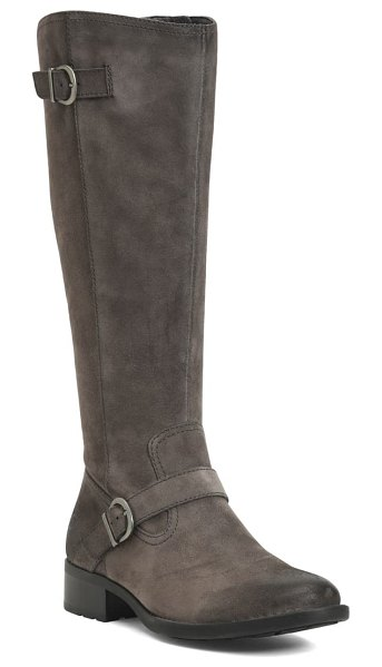 Born b?rn chesire knee high boot in grey suede
