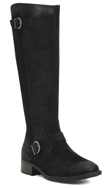 Born b?rn chesire knee high boot in black suede