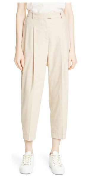 BOSS tocata ankle pants in camel