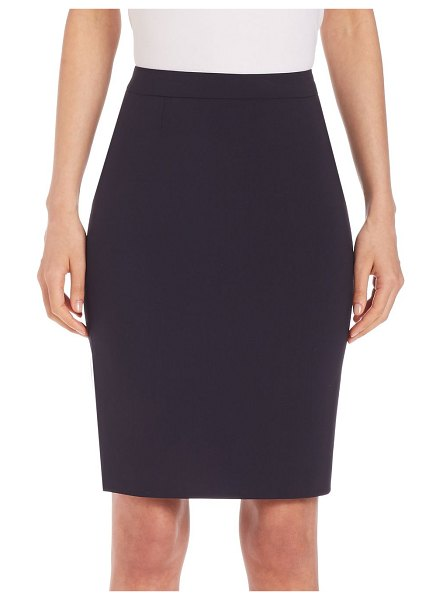BOSS vilea pencil skirt in black