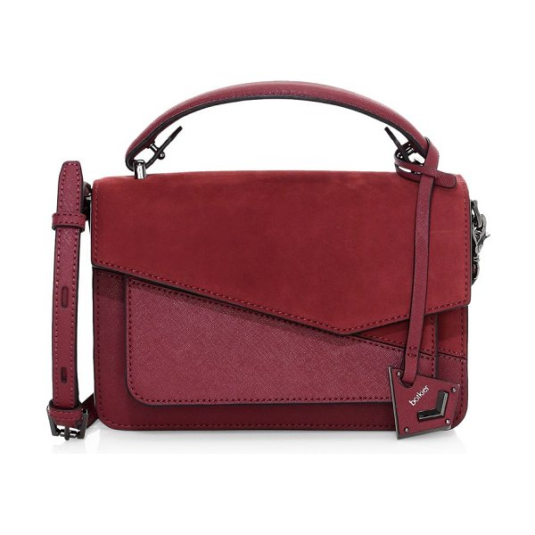 Botkier cobble hill leather satchel in burgundy