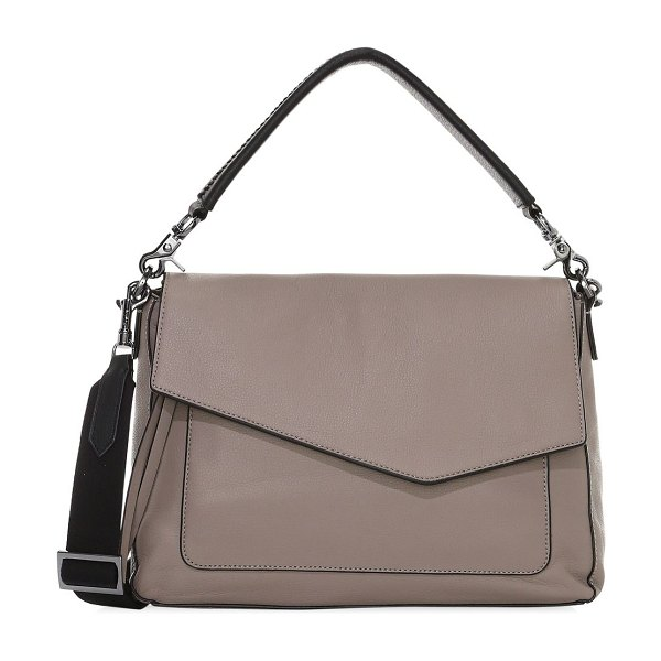 Botkier cobble hill leather shoulder bag in truffle
