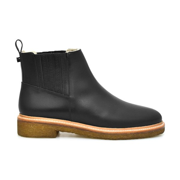 Botkier Leather Everyday Chelsea Booties in jet black-jet