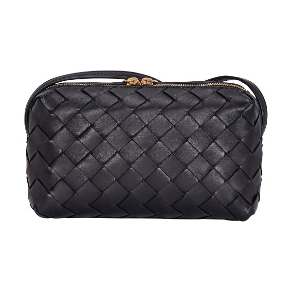 Bottega Veneta Mini shoulder bag in nero