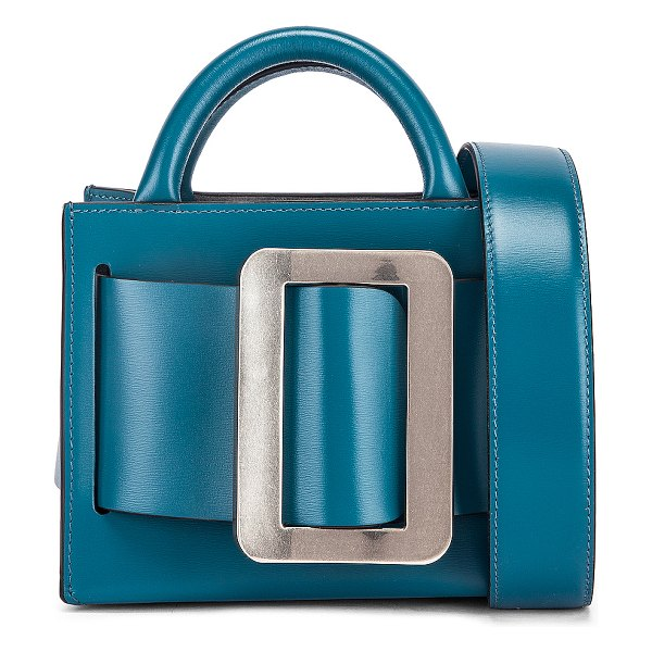 Boyy bobby 16 bag in coral blue & clover