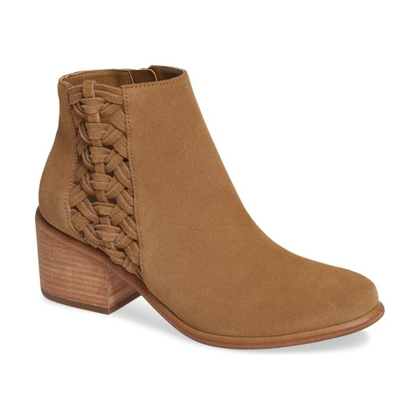 BP. joycey bootie in tan suede