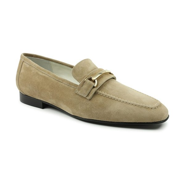 Bruno Magli marco bit loafer in almond suede