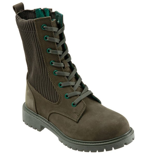 BUENO stella bootie in army green