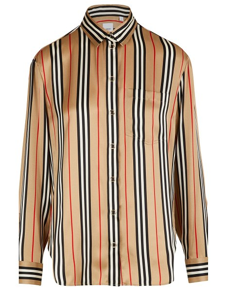 Burberry Godwit shirt in archive beige ip s