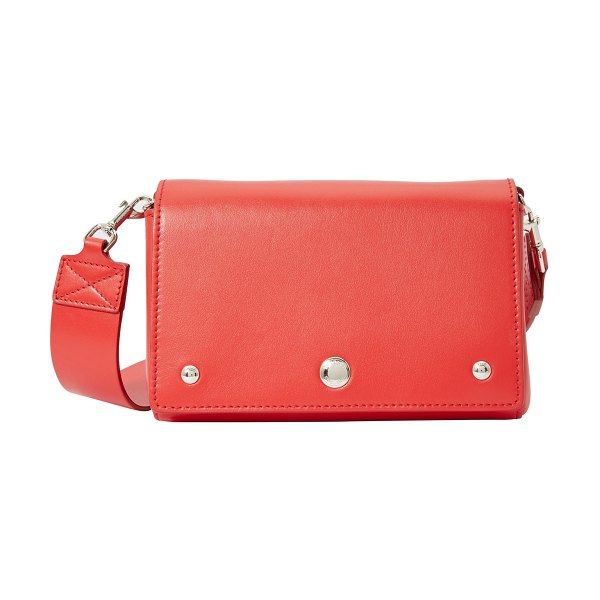 Burberry Hackberry leather handbag in bright military