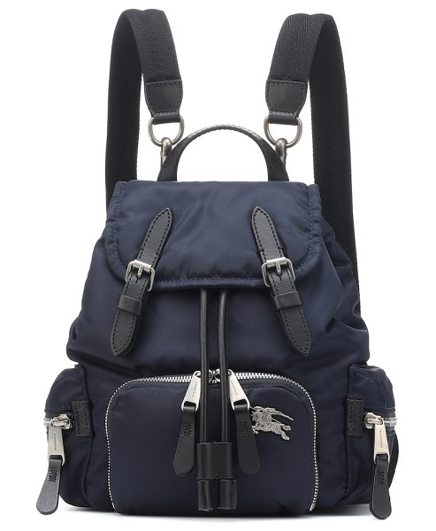 Burberry the small rucksack backpack in blue
