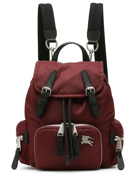 Burberry the small rucksack backpack in red