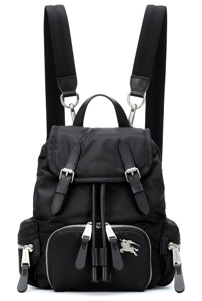 Burberry the small rucksack backpack in black