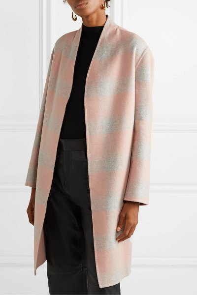By Malene Birger carolas wool-blend felt coat in blush