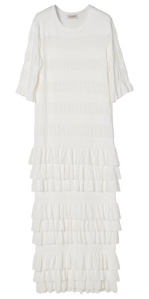 By Malene Birger exellia ribbon knits dress in white