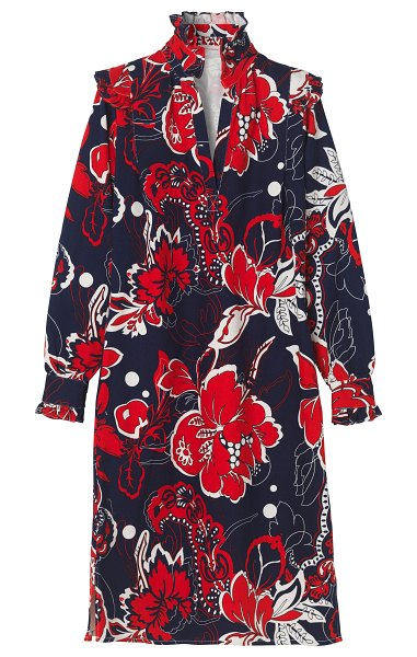 By Malene Birger tyra cotton florence dress in print