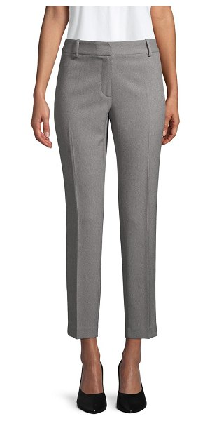 Calvin Klein Slim-Fit Stretch Pants in charcoal tin