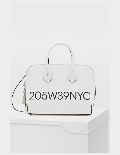 Calvin Klein Dalton small handbag in optic/white