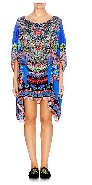 CAMILLA chinese whispers pretpos silk caftan - From the Chinese Whispers Collection. Slouchy silk caftan...