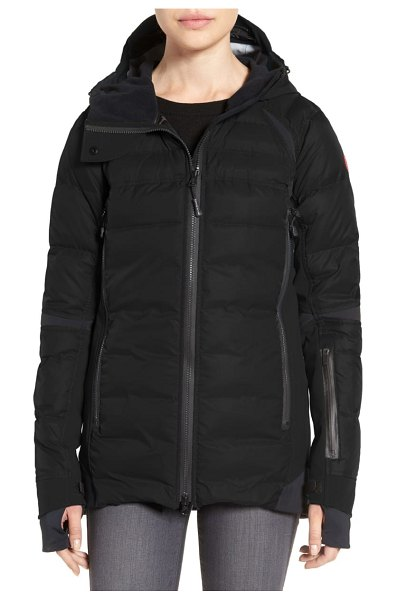 Canada Goose hybridge sutton waterproof down jacket in black - When you need superior cold-weather and waterproof...