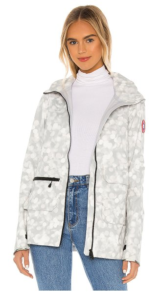 Canada Goose pacifica jacket in light dapple