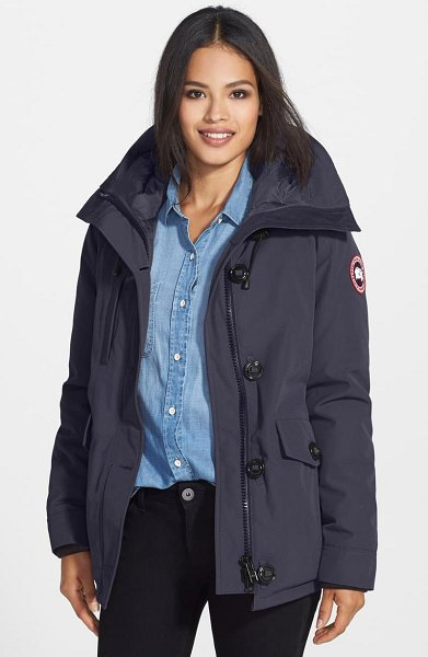 Canada Goose 'rideau' slim fit down parka in navy