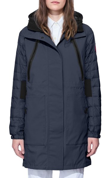 Canada Goose sabine coat in polar sea/ black - Because you just don't