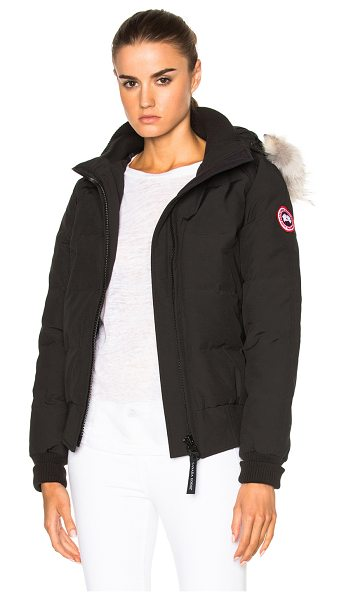 CANADA GOOSE Savonna Bomber - Self: 85% poly 15% cotton - Lining: 100% nylon - Filling:...