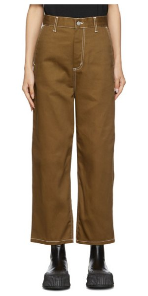 Carhartt Work In Progress armanda pants in brown